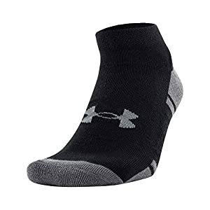 Under Armour Adult Resistor 3.0 Low Cut Socks, 6-Pairs
