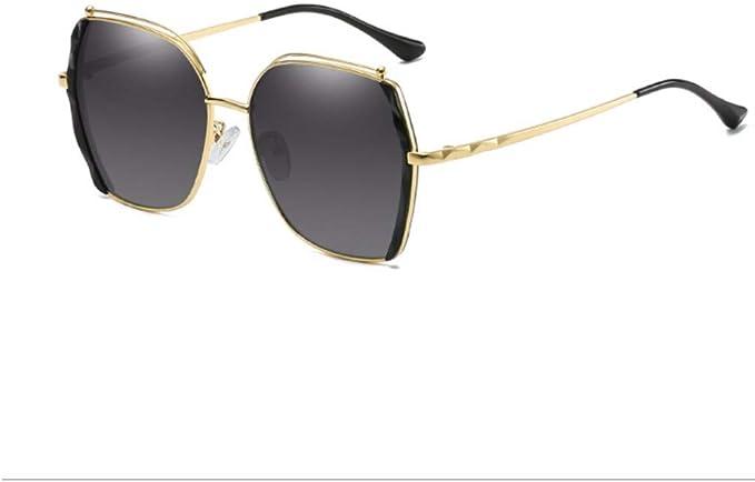 INITIALGRASS Gafas De Sol Mujer Retro Gafas De Sol Polarizadas ...