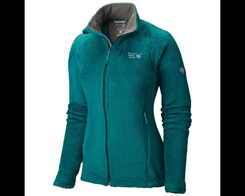 Mountain Hardwear Women's Monkey Woman Grid II Jacket, Teal Green, M (Mountain Hardwear Monkey Woman Jacket)