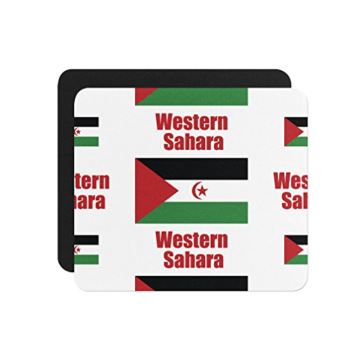 Sahara Pc (Western Sahara Country Flag Computer Laptop Mouse Pad)