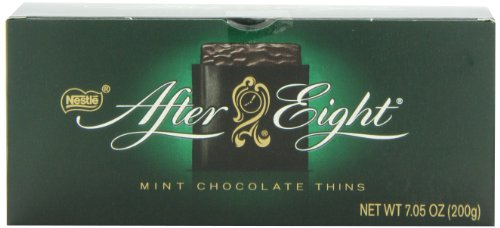 Nestle After Eight Mint Chocolate Thins, Net Wt. 7.05 oz (Free Gluten Chocolate Nestle)