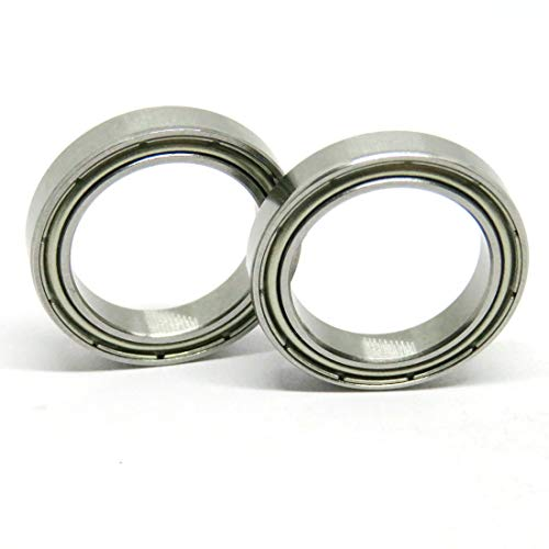 Zoty ABEC-3 6703ZZ Thin Slim Bearing 17x23x4mm Shielded Ball Bearing 6703-ZZ Metric Bearing 61703.2Z for Engine Tools Equipment Pack in 10pcs by Zoty
