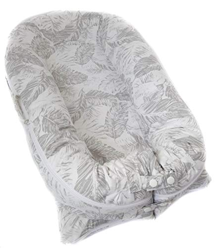Nest Large Bed Cover - Valsonix Baby Nest Cover [fits Dockatot Deluxe+] (Bed of Leaves)