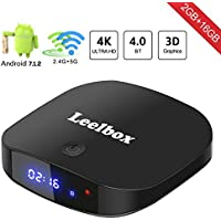 Leelbox Q2 2GB+16GB Dual-WiFi Pro Android 7.1 TV Box