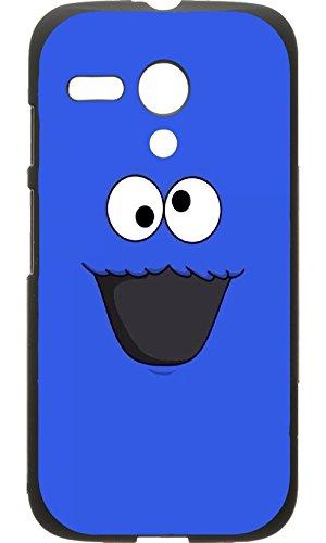 Custom Motorola Moto G Case - Monster Hard Plastic Phone cell Case for Motorola Moto - G Monster Case Moto