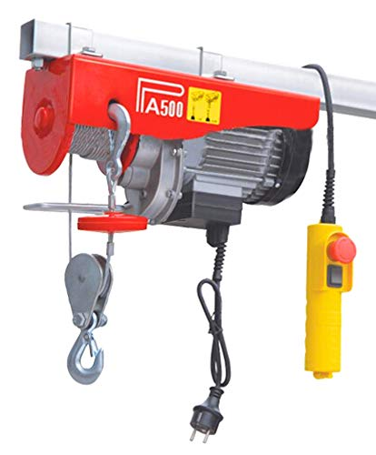 Mini Hoist Electric Hoist Capacity – 500Kg Used For Domestic Purpose & Small Jobs Price & Reviews