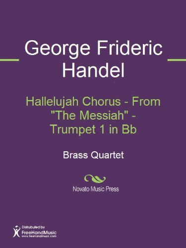 "Hallelujah Chorus - From ""The Messiah"" - Trumpet 1 in Bb Sheet Music"