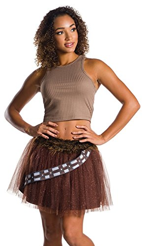 Chewbacca Girl Costumes (Rubie's Costume Co. Men's Adult Star Wars Chewbacca Costume Tutu Skirt,As/Shown,One Size)