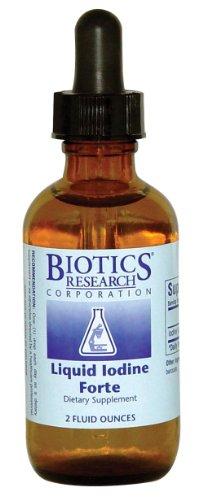 Liquide iode Forte 2 oz - Biotics
