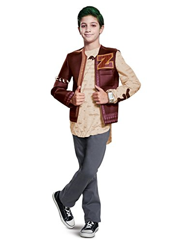 Disguise Zed Zombie Deluxe Child Costume, Red, Medium/(7-8)