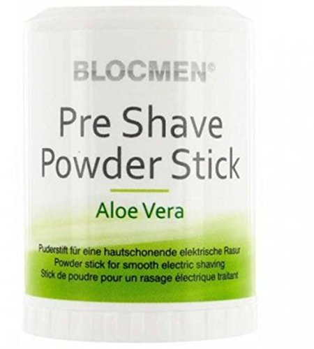 Pre Shave Powder Stick Blocmen Aloe vera