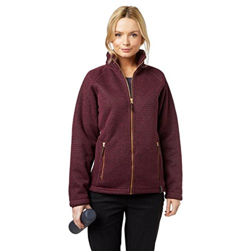Craghoppers Women's Cayton Jacket, Dark Rioja Red Marl, US 8/UK 12 from Craghoppers
