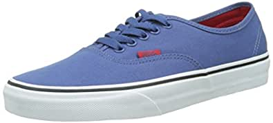 Vans Authentic - Zapatillas, Unisex Adulto, Azul (Black/Pewter Checkerboard), 36