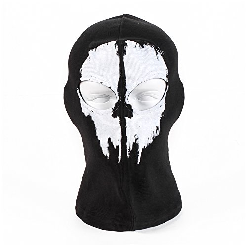 WW&HM CS Ghost Cycling Bike Face Mask Hoods Black White Skull Motocross Motorcycle Balaclava WW-Q110 BS-B 03