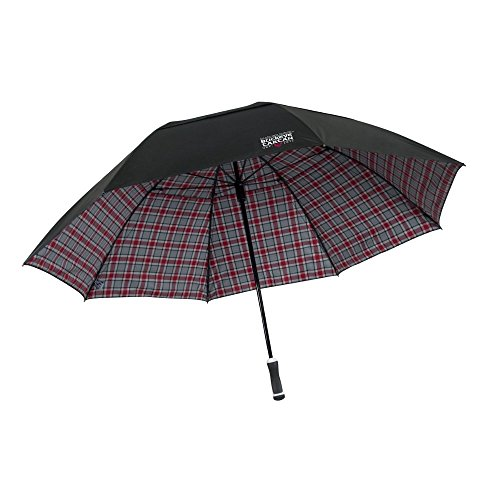 Team Effort Ohio State Buckeye Tartan Windsheer Lite Umbrella (Umbrella Windsheer)