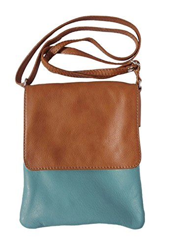 Tan HandBags Teal Girly Mujer Paola Bolso bandolera gXdqzZw