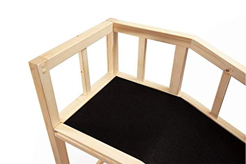 Gentle Rise Dog Bed Ramp | 74 Long and Supports Small, Large, Elderly Dogs up to 120 LBS