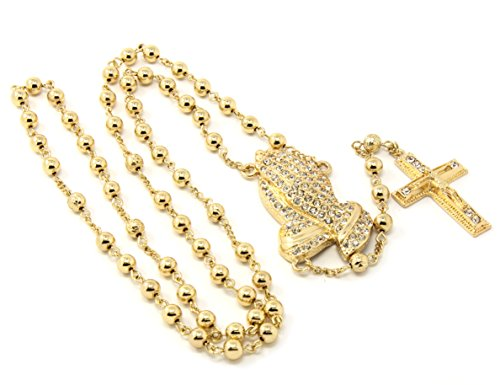 Mens Gold Plated Iced Out 40