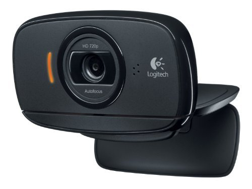 Logitech HD Webcam C525, Portable HD 720p Video Calling with Autofocus (Certified Refurbished)