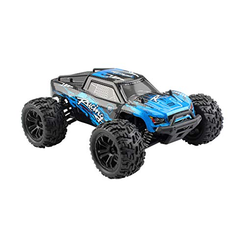 DaoAG 1/16 Scale RC Rock Crawler 4WD Off Road RC Military Truck Rock Crawler 2.4Ghz 36KM/H High Speed Remote Control Monster Truck Waterproof Buggy RC Car for Adults