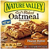 Nature Valley Peanut Butter Soft-Baked Oatmeal Squares 7.44 oz (Pack of 12)