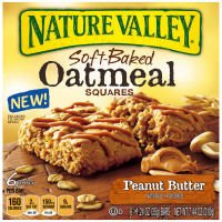 Nature Valley Peanut Butter Soft-Baked Oatmeal Squares 7.44 oz (Pack of 12) by Nature Valley