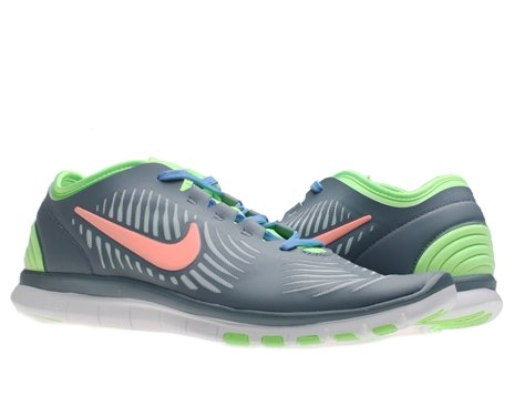Cheap Nike Women's Nike Free Balanza Running Shoes-Armory Slate/Atomic Pink-9.5