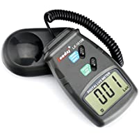 HDE LX-1010B Digital Luxmeter Light Meter with LCD Display - Range up to 50,000 Lux