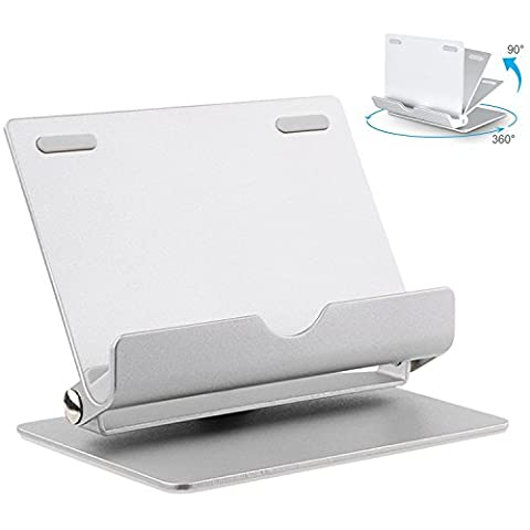 ARCHEER Cell Phone Stand, Tablet Stand, 360° Muti-Angle Aluminum Cell Phone Dock for iPhone, iPad, Samsung Galaxy / Tab, Google Nexus, HTC, LG, Nokia Lumia, OnePlus and More (Cell Phone Samsung Windows 8)
