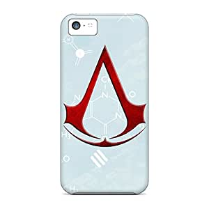 Apple Iphone 5c SMK118gnwv Custom Trendy Assassins Creed Series Bumper Hard Phone Cover -icase88
