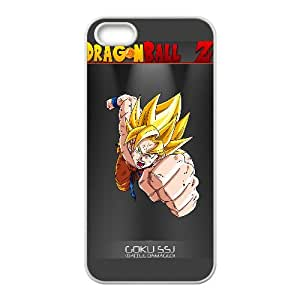 Goku Dragon Ball Z Anime iPhone5s Cell Phone Case White persent xxy002_6899970