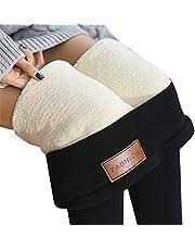 Monkys Dames warme legging thermals dikke warme fleece gevoerde winter rekbare potlood legging broek
