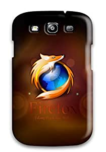 Hot 4046607K92077786 New Arrival Galaxy S3 Case Firefox High Quality Case Cover