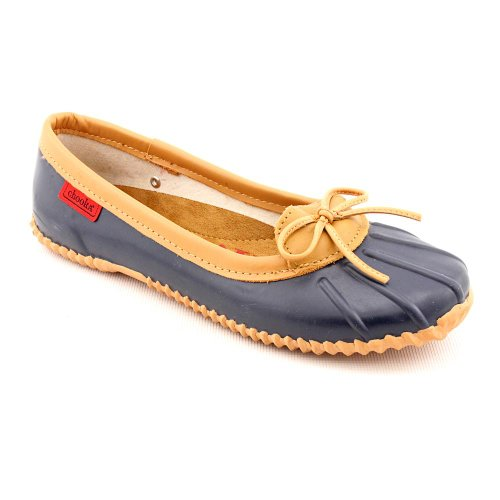 Chooka Skimmer Impermeabile Da Donna Balletto Flat Navy