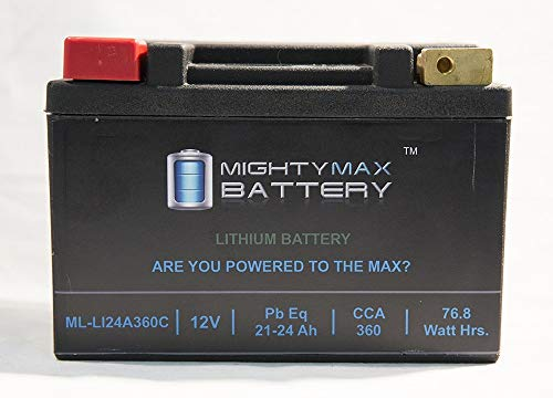 Mighty Max Battery LiFePO4 12V 20-24ah Battery for Arctic Cat 1100 M1100, Bearcat '01-12 Brand Product