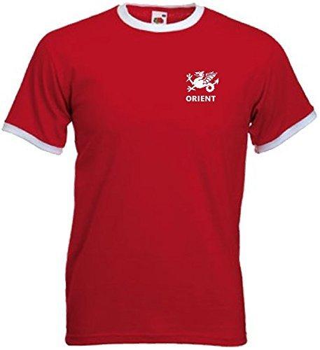 acf45654b Leyton Orient London Unisex FC Retro Style Football Soccer Team Jersey T  Shirt Small Red