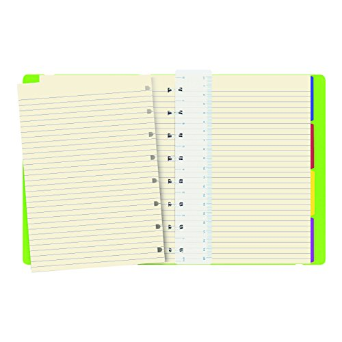 """A5 Notebook, 8.25"""" x 5.12"""", 112 Ruled Pages, Pear (B115013U) Photo #4"""