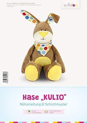 """40 cm, Nähanleitung Kullaloo Kuschelhase /""""Kulio/"""""""