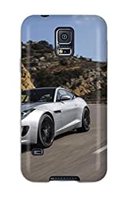 Art Marie Johnson Perfect Tpu Case For Galaxy S5/ Anti-scratch Protector Case (2014 Jaguar F-type V6s Coupe Hd Picture)