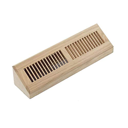 WELLAND 18 Inch Red Oak Hardwood Vent Baseboard Diffuser for sale  Delivered anywhere in USA
