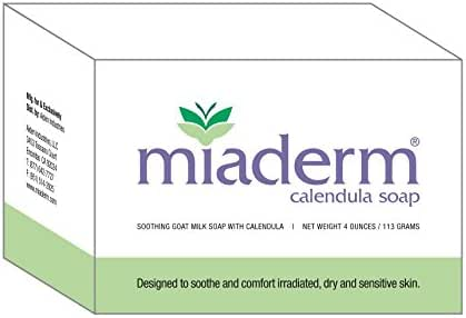 Miaderm Radiation Relief Calendula Soap