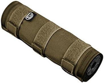 """SLNCO SCOAC1979 Scow Suppressor Cover 6"""" FDE Gun Stock Accessories"""