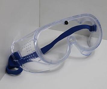 Gafas de protección Gafas, Soft PVC, goma trabajo Gafas Ojo Protección Transparente