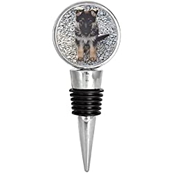 German Shepherd Dog Puppy Wine Stopper