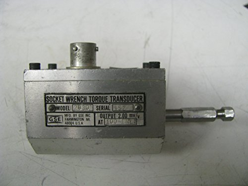 Torque Socket Transducer - GSE Socket Wrench Torque Transducer 100 in Lbs - GSE11