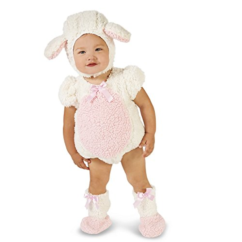 Pink and White Lamb Infant Dress Up Costume 18-24M