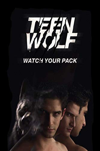 Teen Wolf Teen Wolf TV Series | Teen Wolf Paperback | Fans Cute Notebook Journal Gift