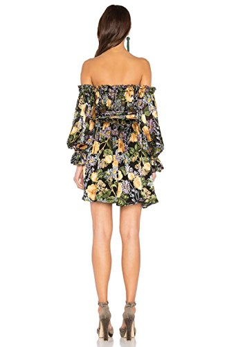 For Love and Lemons Women's Luciana Strapless Dress Black Floral Dress by For Love & Lemons (Image #2)