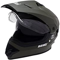 Steelbird SB-42 Bang Motocross Green with Double Visor,600mm