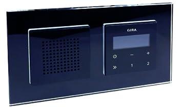 Gira Radio Weiß gira unterputz radio rds mit lautsprecher und rahmen amazon de